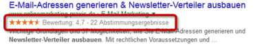 Strukturierte Daten - Rich Snippet - Person