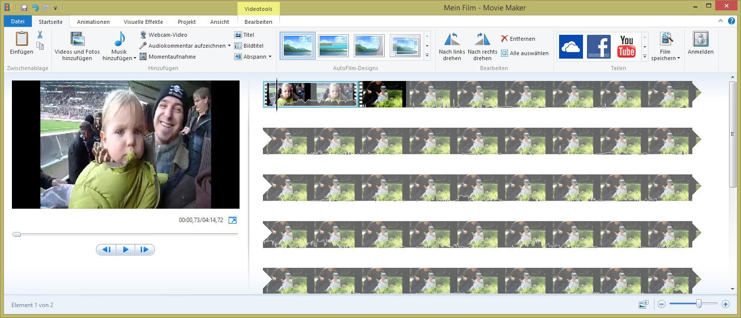 Großartig Windows Movie Maker Vorlagen Ideen - Beispiel Business ...