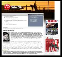 Screenshot ADZINE